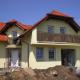 novostavby rodinného domku v Hovorčovicích